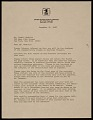 View Dennis J. Holm, Washington, D.C. letter to Lowell Nesbitt, New York, N.Y. digital asset number 0