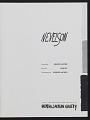 View <em>Nevelson</em> exhibition catalog digital asset: title page