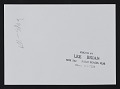 View Louise Nevelson with unidentified individuals at Hokin Gallery in Palm Beach, Florida digital asset: verso