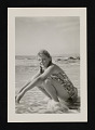 View Photograph of Linda Nochlin as an adolescent on the beach digital asset number 0