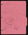 View Doodles on French notebook divider digital asset number 0