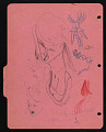 View Doodles on French notebook divider digital asset: verso