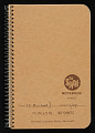 View Notebook, 1984 digital asset number 0