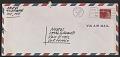 View David Novros, New York, N.Y. letter to Novros family, Van Nuys, Calif. digital asset: envelope