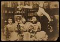 View Elizabeth Shippen Green, Violet Oakley, Jessie Willcox Smith and Henrietta Cozens in their Chestnut Street studio digital asset number 0