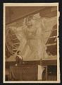 View Photograph of Violet Oakley with her mural <em>Unity</em> digital asset number 0