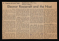 View Roosevelt, Eleanor and Correspondence About Painting Moonlight Over Topaz, Utah digital asset number 1