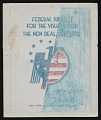 View Mock-up of cover for <em>Federal Support for the Visual Arts</em> by Francis V. O'Connor digital asset number 0