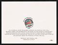 View Notecard featuring reproduction of Tony Ortega pastel <em>Oberos de la Fresa</em> (1996) digital asset: verso