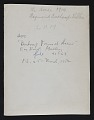 View Photograph of <em>The Horse</em> by Raymond Duchamp-Villon digital asset: verso
