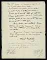 View Henri Matisse, Tangiers, Morocco letter to Walter Pach, New York, N.Y. digital asset number 0