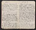 View Walter Pach diary digital asset: pages 12
