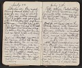 View Walter Pach diary digital asset: pages 14