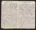 View Walter Pach diary digital asset: pages 21