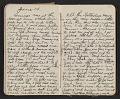 View Walter Pach diary digital asset: pages 33