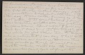 View Morton Schamberg letter to Walter Pach digital asset: postcard back 4