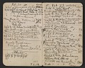 View Walter Pach notebook recording sales at the New York Armory Show digital asset: pages 3