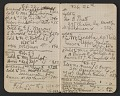View Walter Pach notebook recording sales at the New York Armory Show digital asset: pages 4