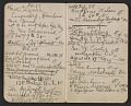 View Walter Pach notebook recording sales at the New York Armory Show digital asset: pages 5