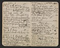View Walter Pach notebook recording sales at the New York Armory Show digital asset: pages 6