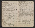 View Walter Pach notebook recording sales at the New York Armory Show digital asset: pages 7