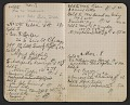View Walter Pach notebook recording sales at the New York Armory Show digital asset: pages 8