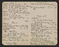 View Walter Pach notebook recording sales at the New York Armory Show digital asset: pages 9