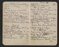 View Walter Pach notebook recording sales at the New York Armory Show digital asset: pages 10