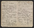 View Walter Pach notebook recording sales at the New York Armory Show digital asset: pages 11