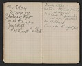 View Walter Pach notebook recording sales at the New York Armory Show digital asset: pages 12