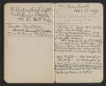 View Walter Pach notebook recording sales at the New York Armory Show digital asset: pages 14