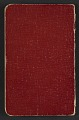View Walter Pach notebook recording sales at the New York Armory Show digital asset: cover verso