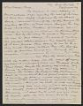 View Arthur B. Davies letter to Walter Pach digital asset number 0