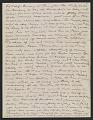 View Arthur B. Davies letter to Walter Pach digital asset: verso