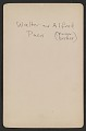 View Alfred and Walter Pach as young boys digital asset: verso