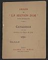 """View Exhibit catalog for <em>Salon de """"La Section d'Or""""</em> digital asset: cover"""