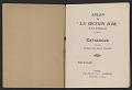 """View Exhibit catalog for <em>Salon de """"La Section d'Or""""</em> digital asset: pages 1"""