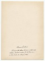 View Thomas Eakins digital asset: verso