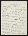 View Frida Kahlo, New York, New York letter to Emmy Lou Packard, San Francisco, California digital asset: page 3