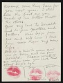 View Frida Kahlo, New York, New York letter to Emmy Lou Packard, San Francisco, California digital asset: page 6