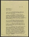 View Emmy Lou Packard draft letter to Milton Meltzer, New York, New York digital asset number 0