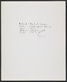 View Mark di Suvero, Washington's Boing, 1965 digital asset: verso