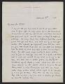 View Maxfield Parrish, Windsor, Vt. letter to Mr. Coates digital asset number 0