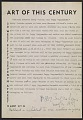 View Contract between Betty Parsons and Peggy Guggenheim regarding representation of Jackson Pollock digital asset number 0
