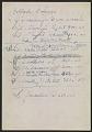 View Contract between Betty Parsons and Peggy Guggenheim regarding representation of Jackson Pollock digital asset: verso