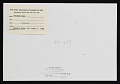 View Photograph of the <em>Forrest Bess</em> exhibition at the Whitney Museum of American Art digital asset: verso