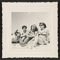 View Andy Warhol, Dorothy Cantor, Corinne Kessler and Leah Cantor on Fire Island Beach digital asset number 0