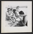View Dorothy Cantor with her cousins Bill and Gloria Hankin on Fire Island Beach digital asset number 0