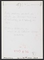 View Andy Warhol seated at a desk digital asset: verso