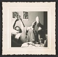 View Photograph of Andy Warhol and George Klauber at 21 St., New York digital asset number 0